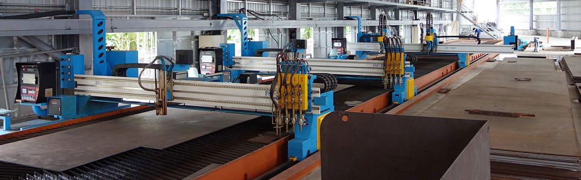 CNC Plasma/Gas Cutting Machine