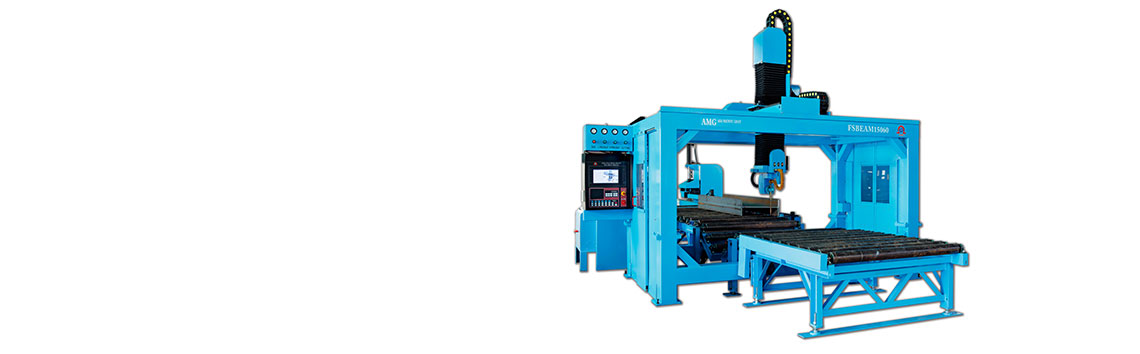 CNC H-Beam Cutting Coping Machine