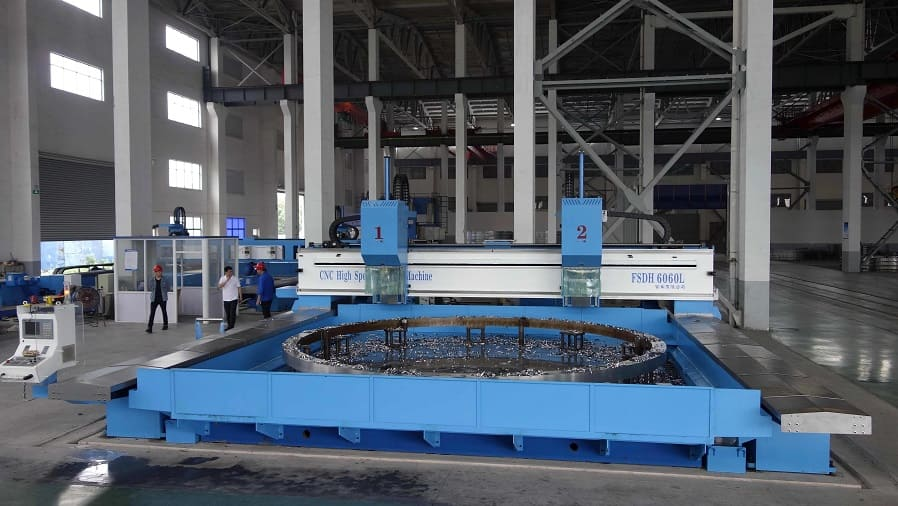 CNC High Speed Table Type Plate Drilling Machine - FSDH