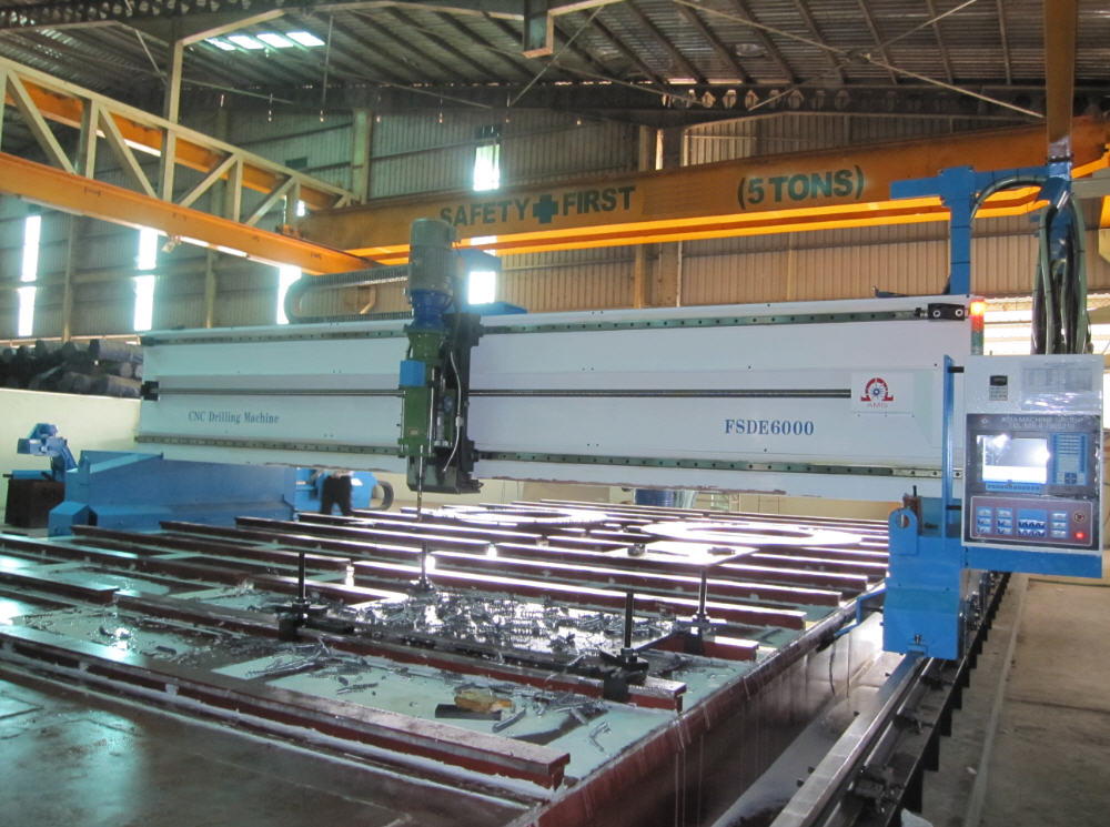 Gantry Type Fiber Laser Cutting CNC Machine