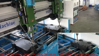 CNC Normal Speed Table Type Plate Drilling Machine - FSD Model