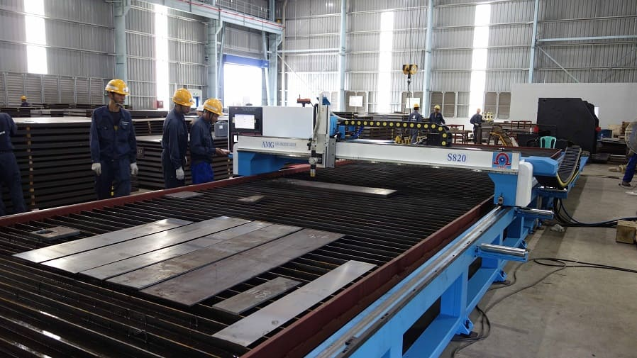 CNC Plasma/Gas Plate Cutting Machine - S Model