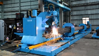 CNC Round/Rectangle Pipe Cutting Machine - Pipe FSP Model