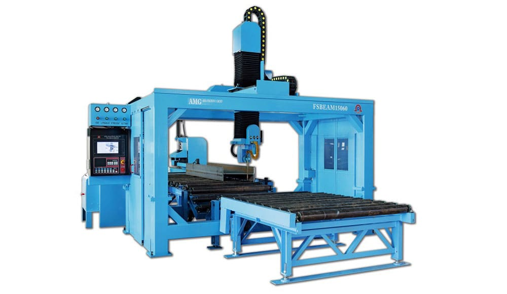 CNC H-Coper, CNC H-Beam Cutting Coping Machine