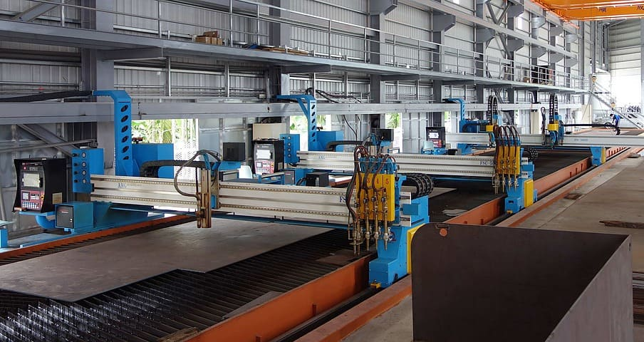 CNC Plasma/Gas Cutting Machine, Plasma Metal Cutting Table